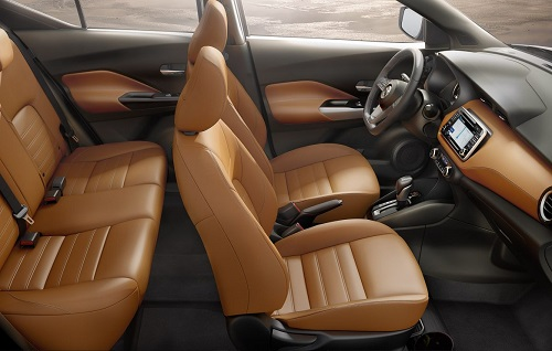 Interior Nissan Kicks
