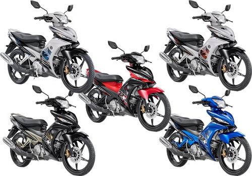 All Varian Yamaha Jupiter MX