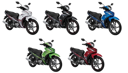 All Varian Yamaha Jupiter Z1