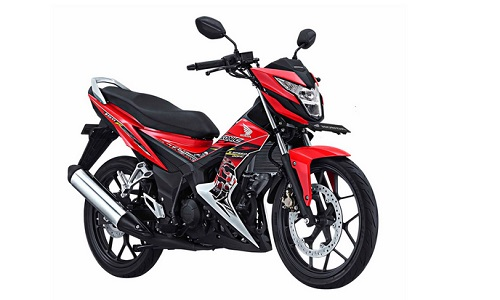 Energetic RED Honda Sonic 150R