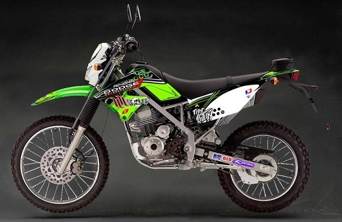 Haga Motor Kawasaki KLK