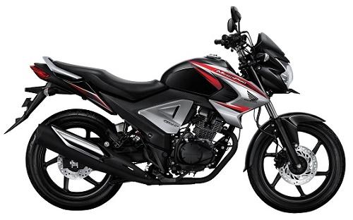 Honda Megapro FI Brave Black