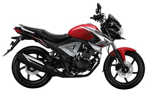 Honda Megapro FI Renegade Red