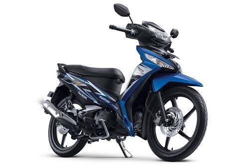 Honda Supra X 125 FI CW Fabulous Blue