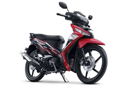 Honda Supra X 125 FI CW Graceful Red