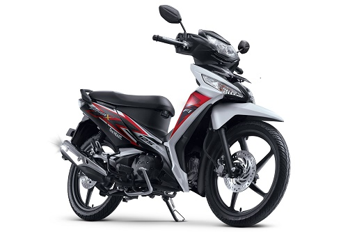 Honda Supra X 125 FI CW Luxury White