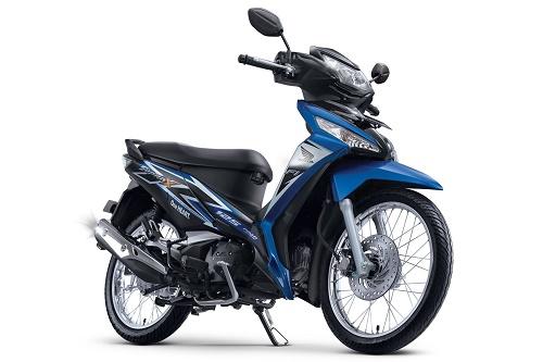 Honda Supra X 125 FI SW Fabulous Blue