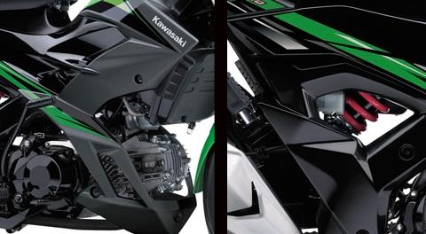 Spesifikasi Kawasaki Athlete Pro