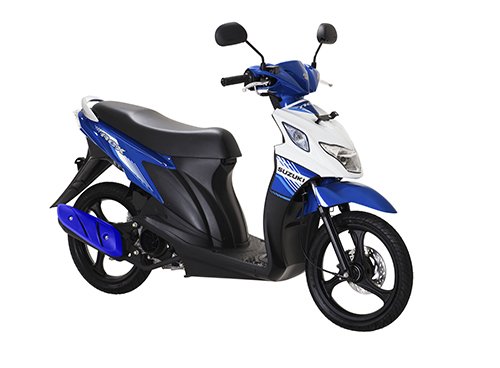 Suzuki Nex FI Met. Medium Blue - Brilian White