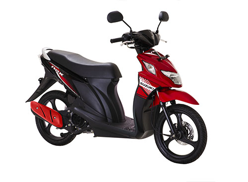 Suzuki Nex Fi Celebration Red - Titan Black