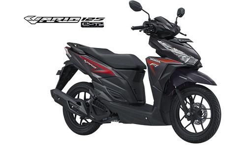 Titanium Black Honda Vario 125 eSP