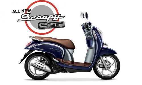 Uptown Blue Honda Scoopy eSP
