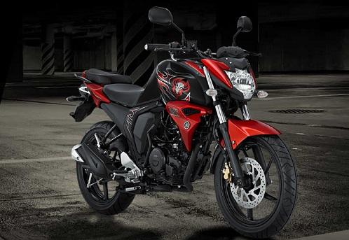 Yamaha Byson FI Red Combat
