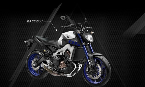 Yamaha MT-09 Race Blue