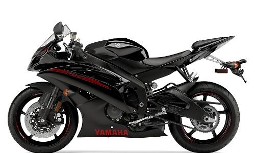Yamaha R6 Black