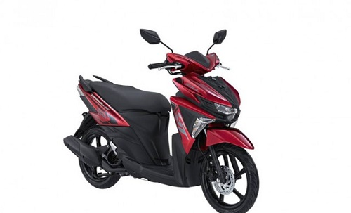 Yamaha Soul GT 125 Red