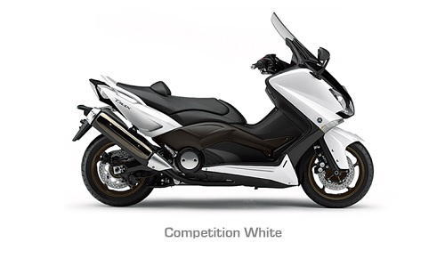 Yamaha Tmax Competition White