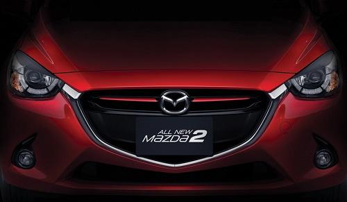Eksterior Mazda 2