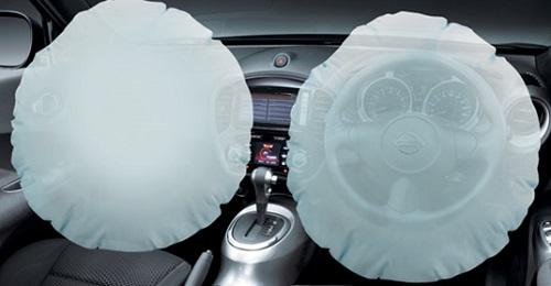 Fitur SRS Airbag Nissan Juke