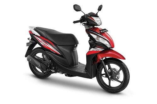 Honda Spacy Helm IN FI Majestic Red