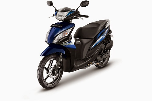 Honda Spacy Helm in FI Royal Blue