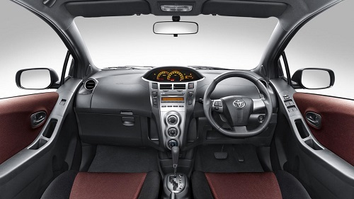 Interior Toyota Yaris
