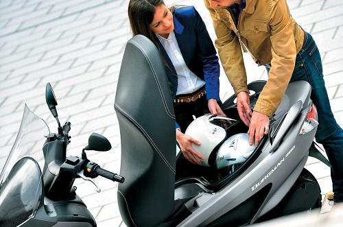 Review Spesifikasi Suzuki Burgman 200