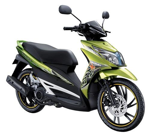 Suzuki Hayate Green Edition