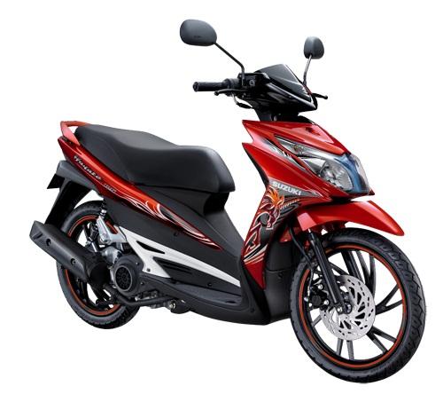 Suzuki Hayate Red Edition