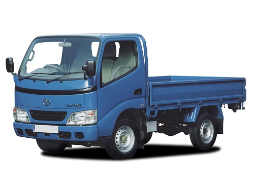 Toyota Dyna Blue Color