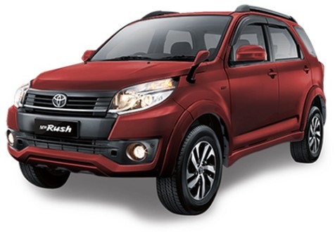Toyota Rush Dark Red