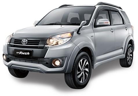 Toyota Rush Silver Metalic