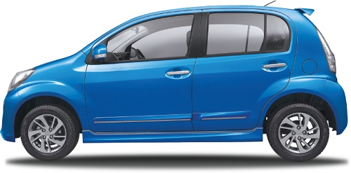Daihatsu Sirion Electric Blue