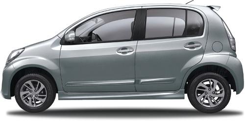 Daihatsu Sirion Glittering Silver