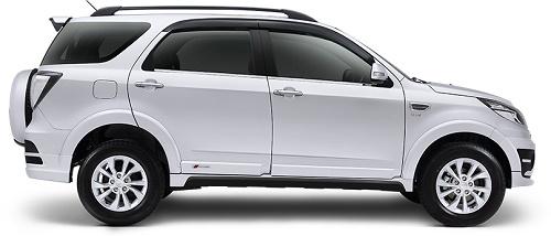 Daihatsu Terios Classic Silver