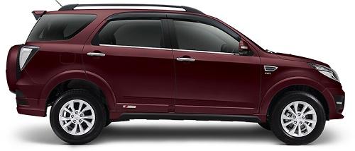 Daihatsu Terios Scarlet Red