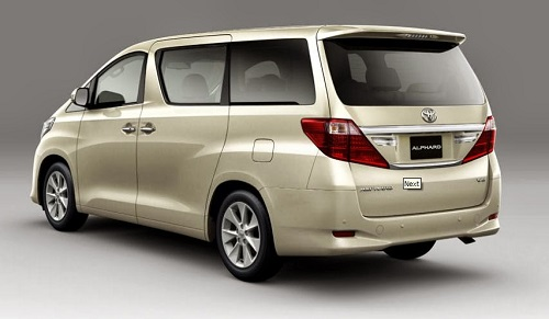 Review Toyota Alphard