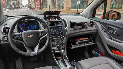 Ruang Kabin Chevrolet Trax