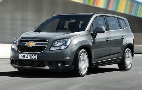 Spesifikasi dan Harga Chevrolet Orlando