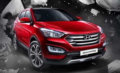 Spesifikasi dan Harga Hyundai Santa Fe