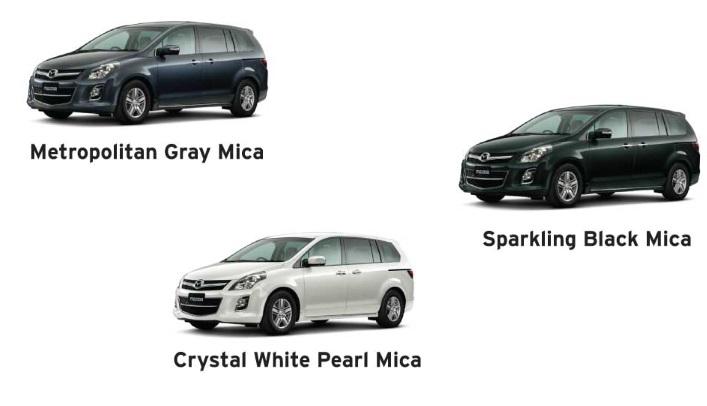 New Mazda 8
