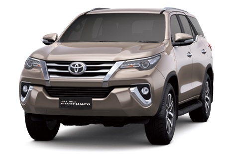 All New Fortuner Brown Metallic