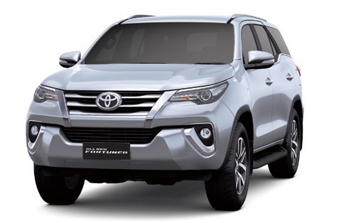 All New Fortuner Silver Metallic