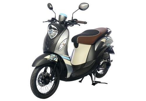 Desain Yamaha Fino 125 Blue Core