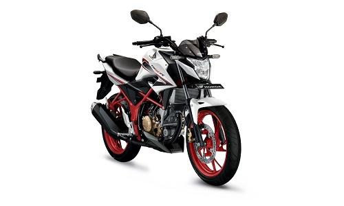 Honda CB150R Speedy White