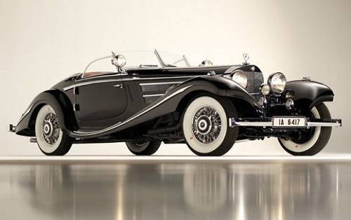 Mercedez-Benz 540 K Special Roadster 1936