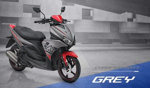 Review Yamaha Aerox 125 LC
