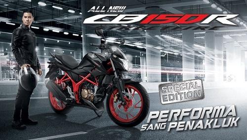 Spesifikasi dan Harga Honda CB150R Spesial Edition