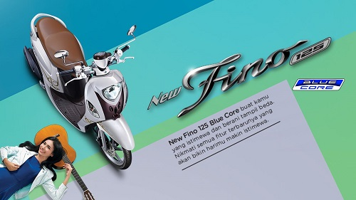 Yamaha New Fino 125 Blue Core