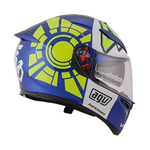 AGV K3 SV TOP WINTER TEST 2012 Blue Helm